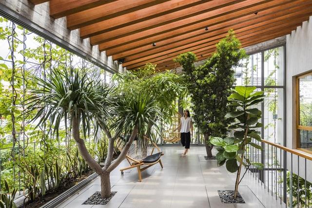 Nhà 3 tầng ở Sài Gòn khiến báo Tây bất ngờ vì đẹp như rừng nhiệt đới - 8