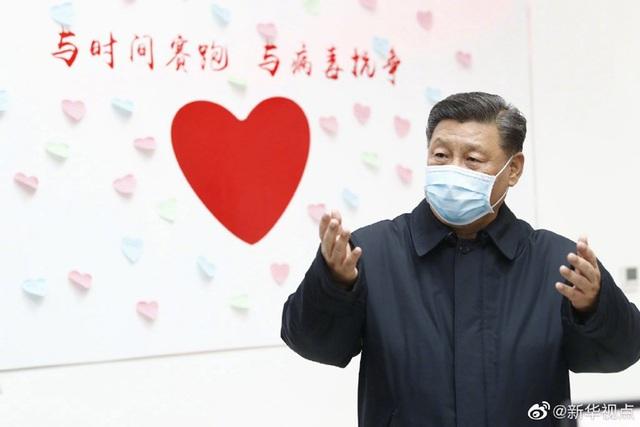 """Ông Tập Cận Bình: """"Trung Quốc chắc chắn sẽ chiến thắng dịch corona"""" - 1"""