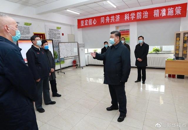 Ông Tập Cận Bình trực tiếp thị sát công tác chống dịch corona - 3