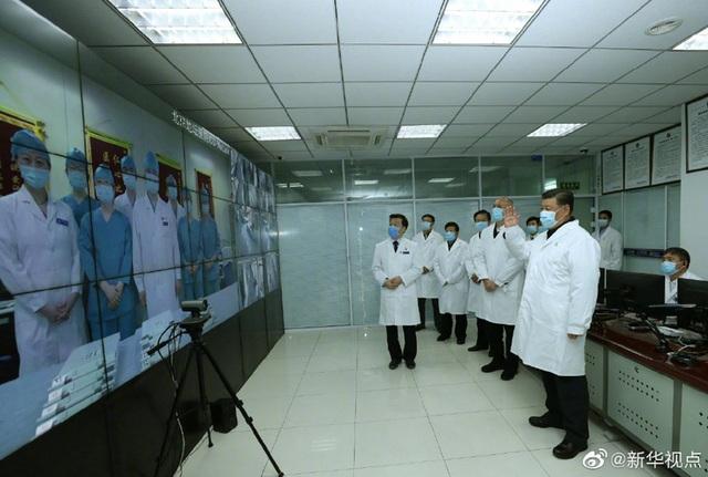 Ông Tập Cận Bình trực tiếp thị sát công tác chống dịch corona - 8