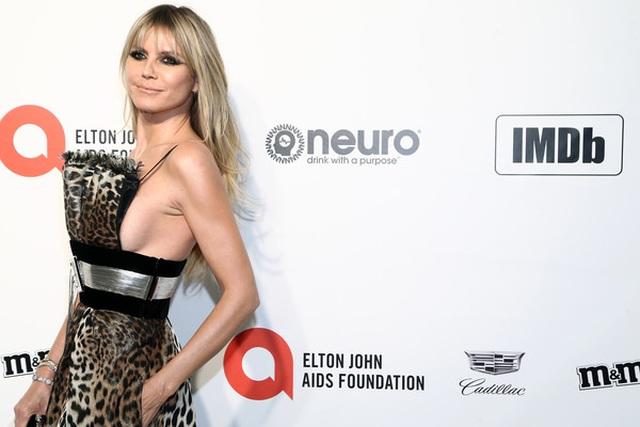 Heidi Klum bốc lửa dự tiệc Oscar 2020 - 9