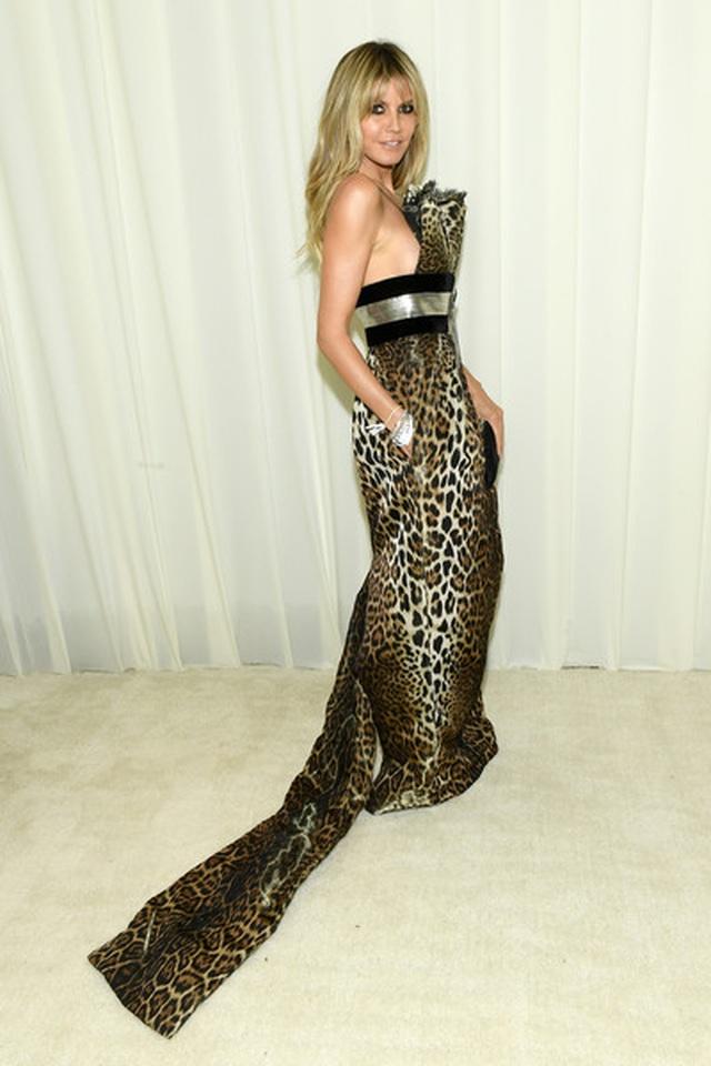 Heidi Klum bốc lửa dự tiệc Oscar 2020 - 7