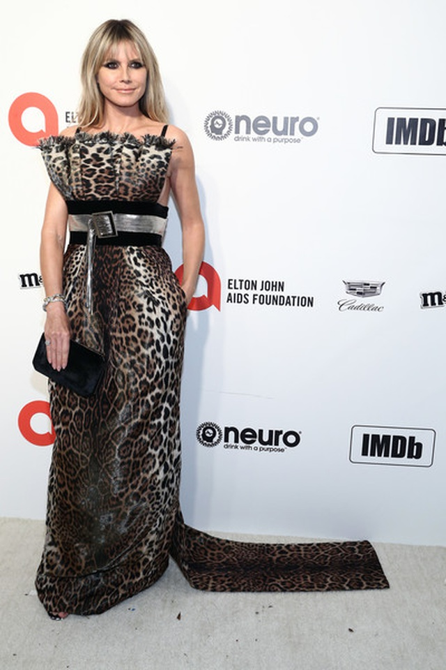 Heidi Klum bốc lửa dự tiệc Oscar 2020 - 8