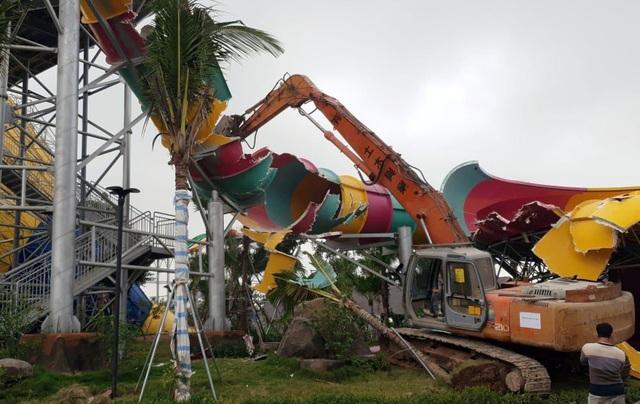 """Quận Hà Đông """"né"""" câu hỏi liên quan đến việc phá dỡ Công viên nước Thanh Hà - 2"""
