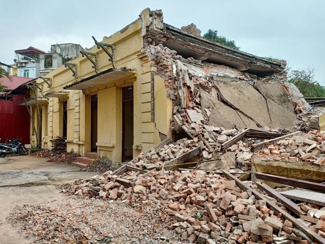 Trạm phát sóng Bạch Mai bị phá dỡ ngay trước ngày lập hồ sơ di tích - 1
