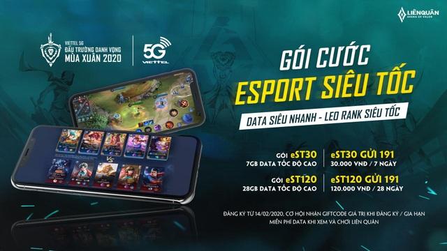 """Viettel Telecom phối hợp cùng Liên Quân Mobile công bố gói data """"eSport siêu tốc"""" - 2"""