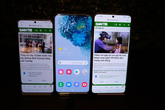 Cận cảnh bộ 3 smartphone Galaxy S20: Nâng cấp ấn tượng về camera - 16
