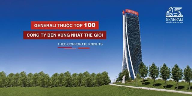 Generali lọt vào top 100 công ty bền vững nhất thế giới - 1