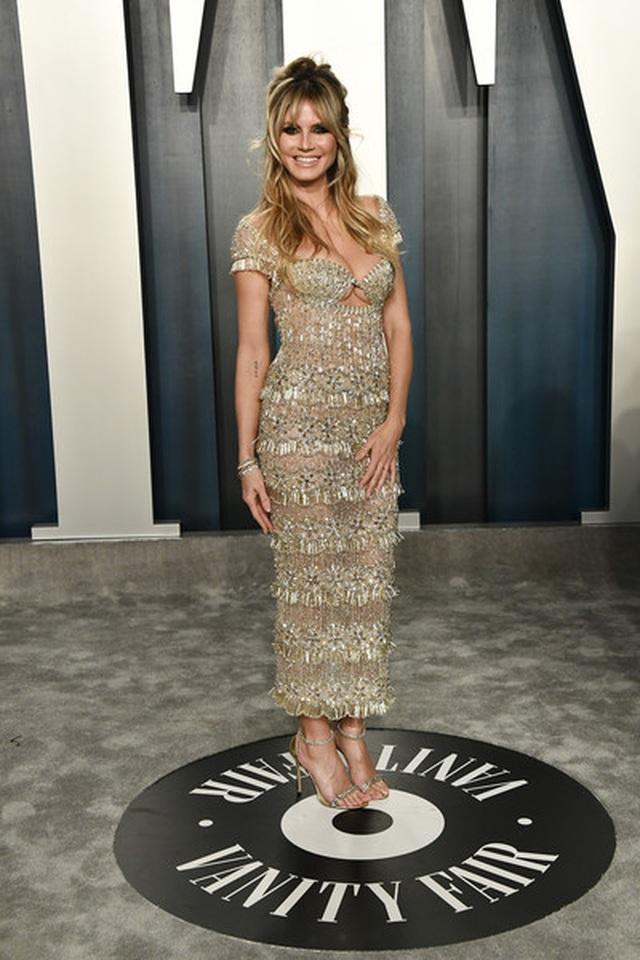 Heidi Klum bốc lửa dự tiệc Oscar 2020 - 1