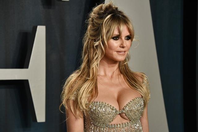 Heidi Klum bốc lửa dự tiệc Oscar 2020 - 5