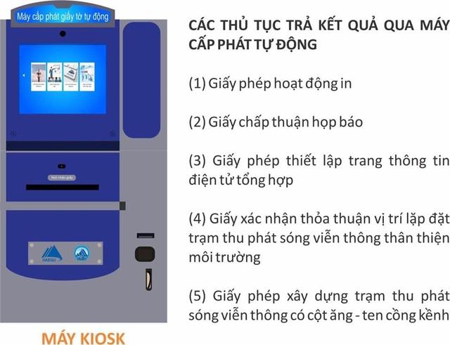 Đà Nẵng triển khai thí điểm sử dụng máy cấp phát giấy tờ tự động - 1