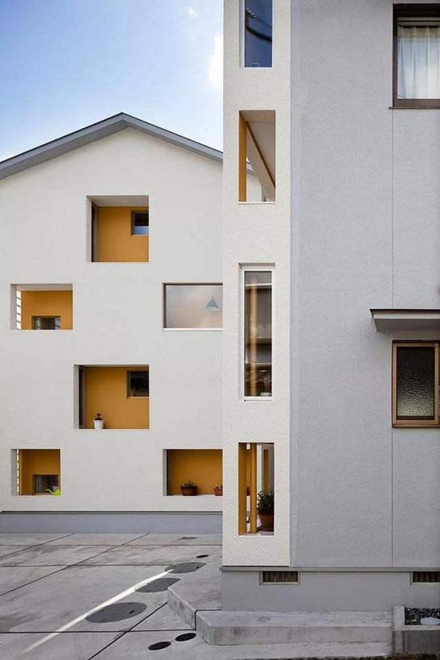 """Ngôi nhà ở Nhật Bản có cách cải tạo """"cắt làm đôi"""" gây sốc - 5"""