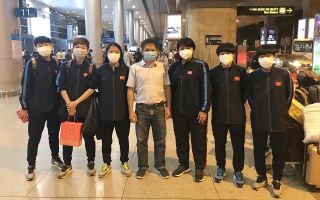 Đội tuyển nữ Việt Nam về nước sau thành công tại vòng loại Olympic - 1