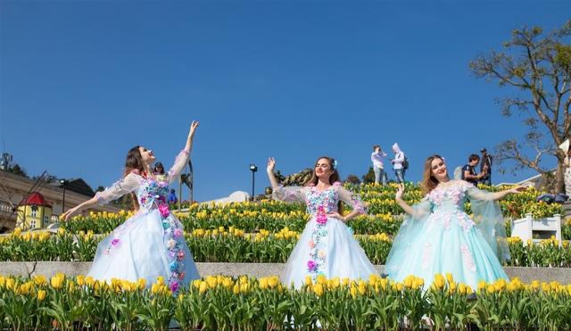 Valentine ngọt như mật tại thiên đường tulip Sun World Ba Na Hills - 4