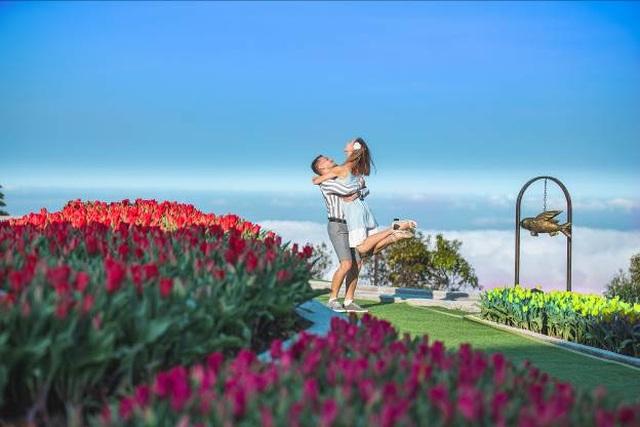 Valentine ngọt như mật tại thiên đường tulip Sun World Ba Na Hills - 5
