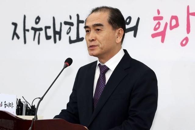 Nhà ngoại giao Triều Tiên đào tẩu tuyên bố tranh cử tại Hàn Quốc - 1