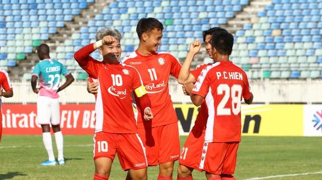 Công Phượng ghi bàn, CLB TPHCM hoà trên đất Myanmar tại AFC Cup - 3