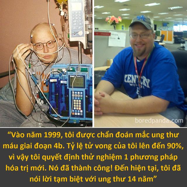 Màn lột xác ngoạn mục của những con người chiến thắng ung thư - 5