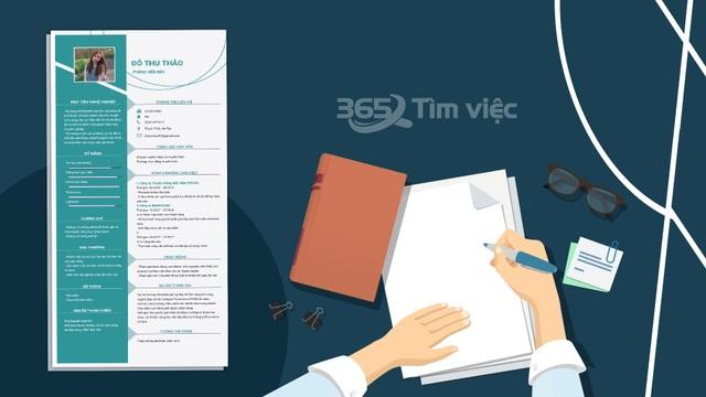 """Timviec365.vn - nơi """"ươm mầm"""" giấc mơ việc làm trong CV xin việc chuyên nghiệp - 1"""