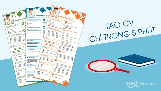 """Timviec365.vn - nơi """"ươm mầm"""" giấc mơ việc làm trong CV xin việc chuyên nghiệp - 3"""