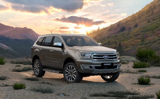 Ford nâng cấp Ranger và Everest, có thêm Ranger Limited - 1