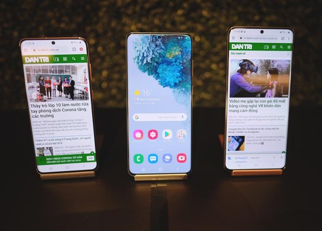 Đọ cấu hình bộ ba Galaxy S20 cùng loạt smartphone cao cấp - 1