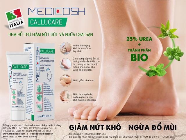 Công ty TNHH Intershop và DKSH Việt Nam ra mắt sản phẩm mới hỗ trợ trị nứt gót chân – Medicosh Callucare - 2