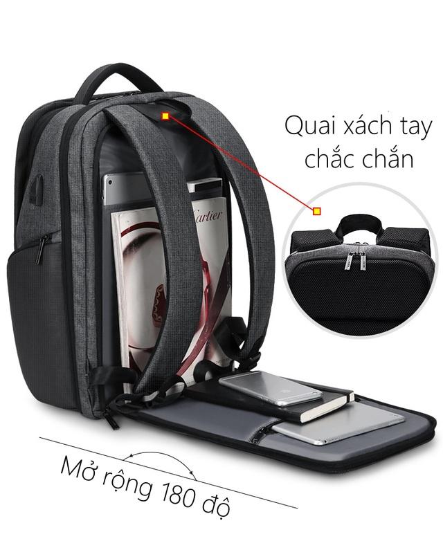 Momoshop - Địa chỉ uy tín về Balo Laptop chống trộm - chống nước thời trang - 2