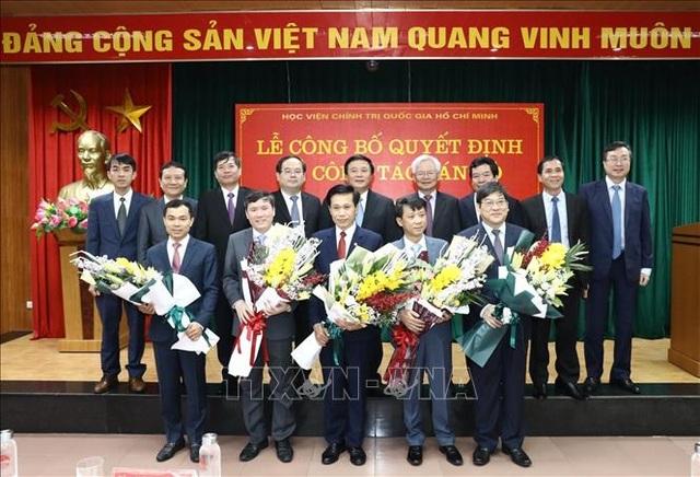Ban Bí thư bổ nhiệm cán bộ tại Học viện Chính trị quốc gia Hồ Chí Minh - 1