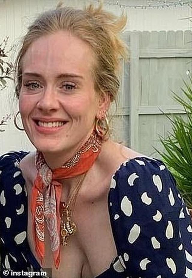 Adele giảm cân đáng ngạc nhiên - 4