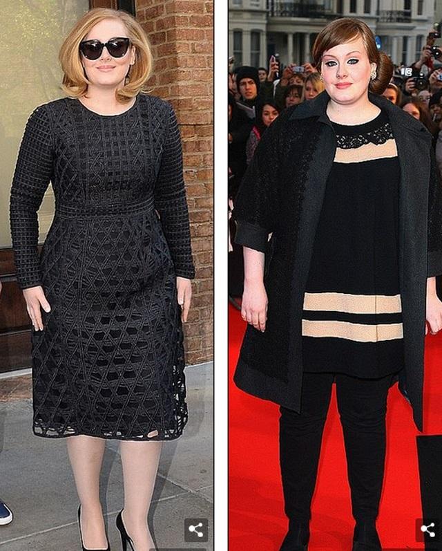 Adele giảm cân đáng ngạc nhiên - 6