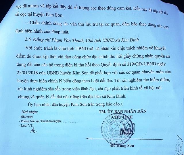 """Huyện Kim Sơn """"dính"""" hàng loạt sai phạm tại dự án 992 tỷ đồng - 4"""