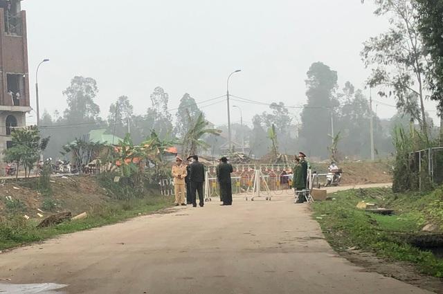 Chốt cách ly hơn 10.000 người dân xã Sơn Lôi hoạt động như thế nào? - 2