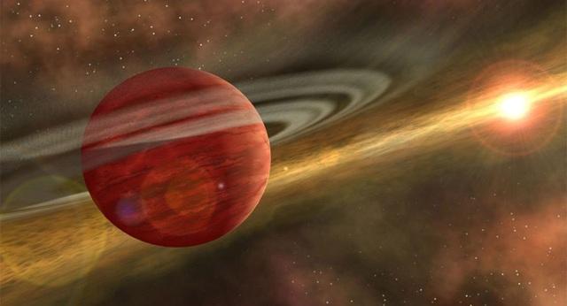 """Khám phá ra hành tinh """"sơ sinh"""" khổng lồ gần Trái đất - 1"""