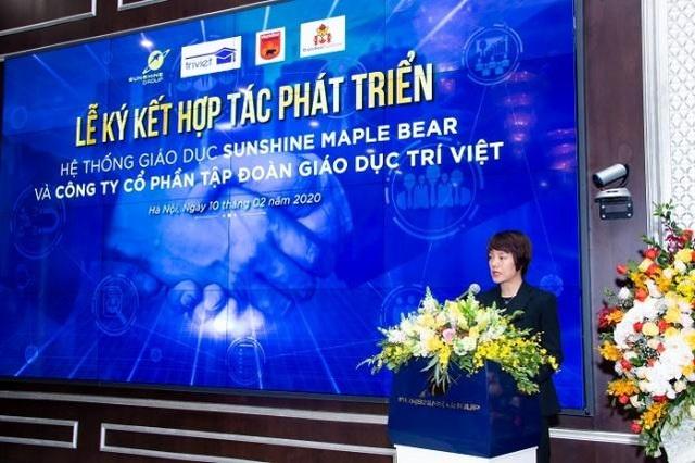 """Hệ thống giáo dục Sunshine Maple Bear """"bắt tay"""" hợp tác với Tập đoàn Giáo dục Trí Việt - 2"""