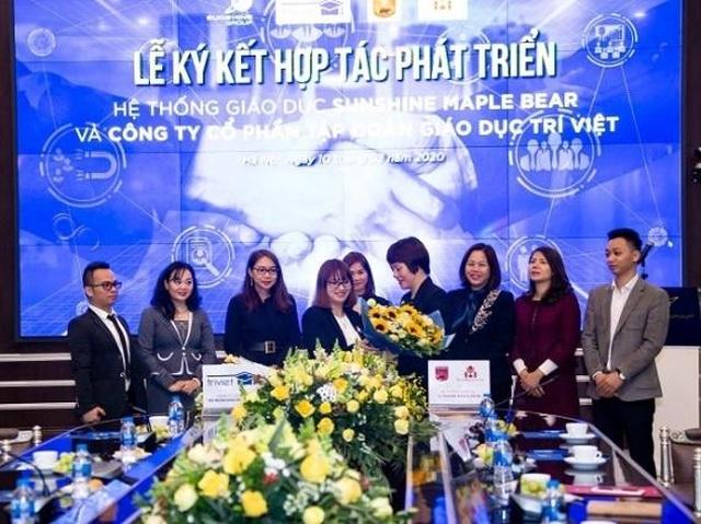"""Hệ thống giáo dục Sunshine Maple Bear """"bắt tay"""" hợp tác với Tập đoàn Giáo dục Trí Việt - 4"""