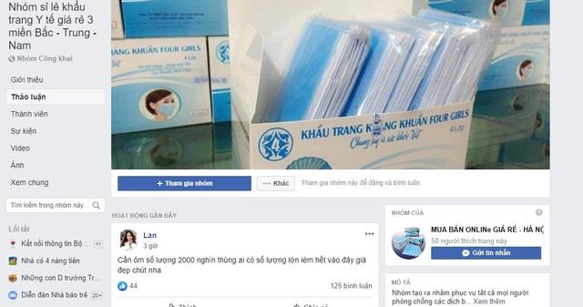 """Khẩu trang kháng khuẩn bằng... giấy vệ sinh được bán giá """"cắt cổ trên mạng - 1"""