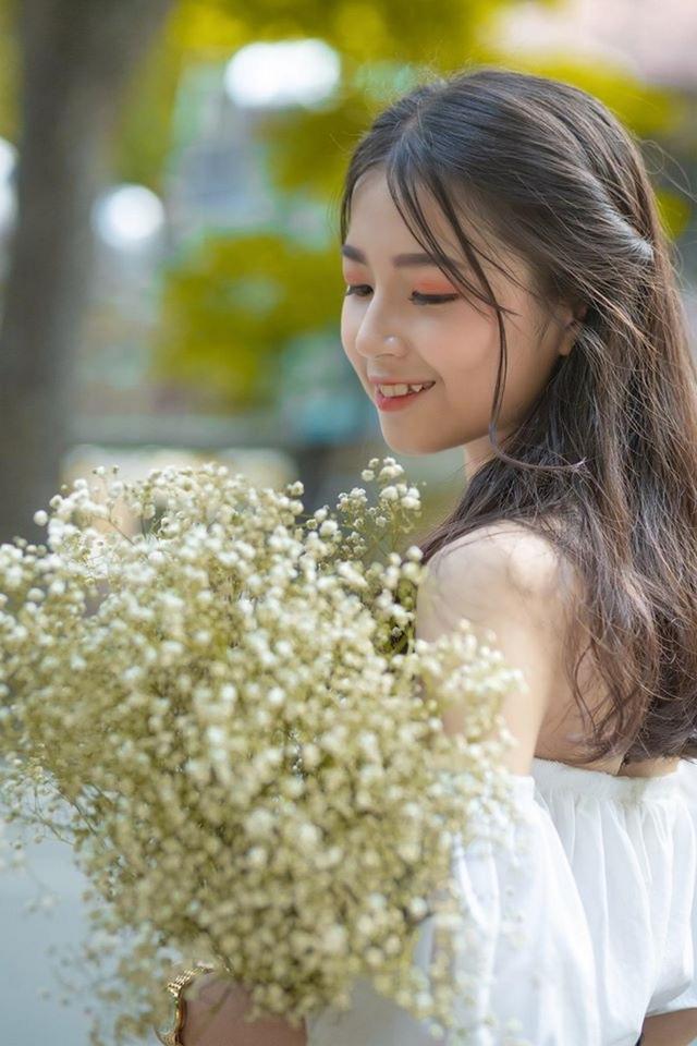 """Nữ sinh Hà thành """"gieo thương nhớ"""" với góc nghiêng xinh đẹp - 3"""