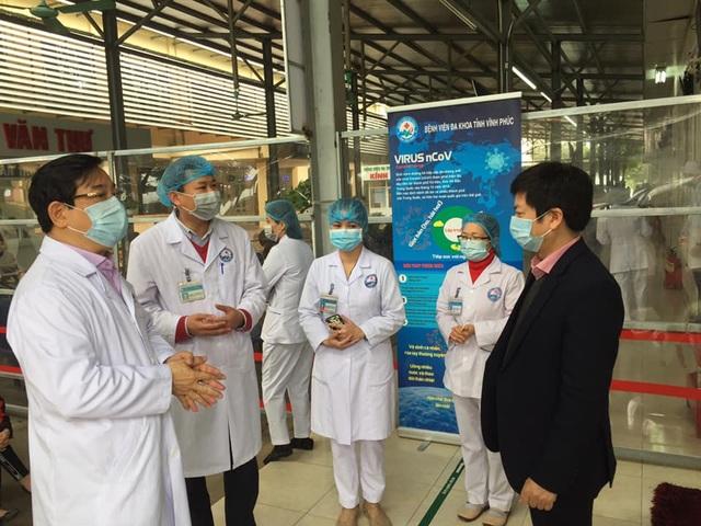 Bộ Y tế: Tâm dịch Vĩnh Phúc phải phân tuyến, cách ly bệnh nhân tại cơ sở - 1
