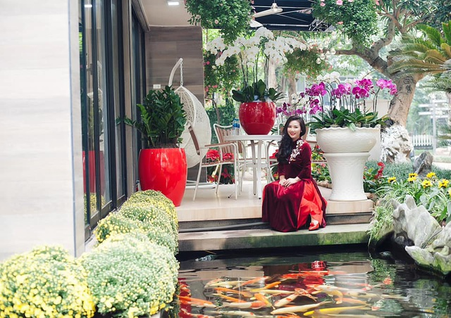 Cặp vợ chồng trẻ ở Hưng Yên bỏ phố, về quê làm biệt thự vườn đẹp hiếm có - 11