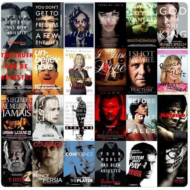 """13 dạng poster """"siêu kinh điển"""" của điện ảnh - 13"""