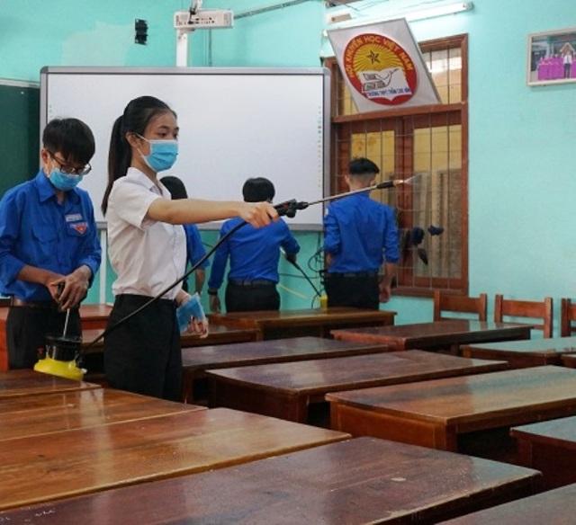 Bình Định: HS Tiểu học, THCS đi học từ ngày 9/3, Mầm non nghỉ đến hết 15/3 - 1