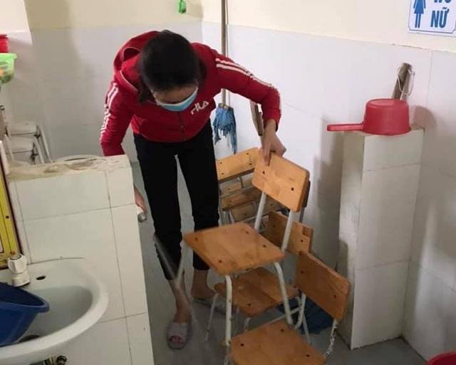 Thanh Hóa: Các trường phun khử trùng lần 2, dọn vệ sinh để đón HS trở lại - 5