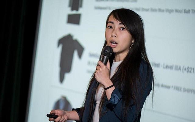 Cô gái gốc Việt khởi nghiệp bằng lập công ty bán áo chống đạn tại Mỹ - 1