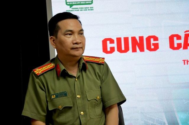TPHCM họp báo vụ Tuấn khỉ: Đối tượng bắn 3 phát súng khi bị vây bắt - 1