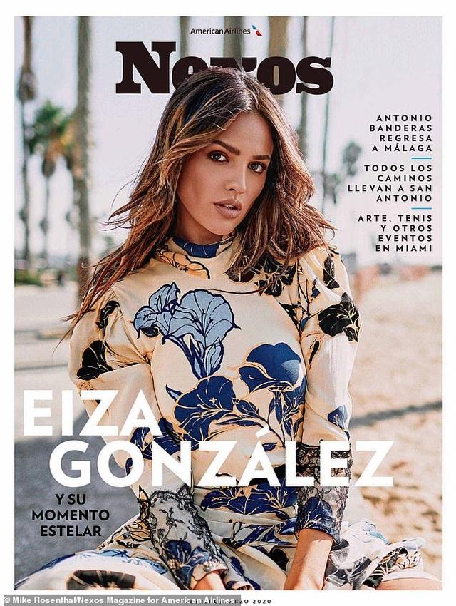 Eiza Gonzalez khoe dáng nuột nà - 6