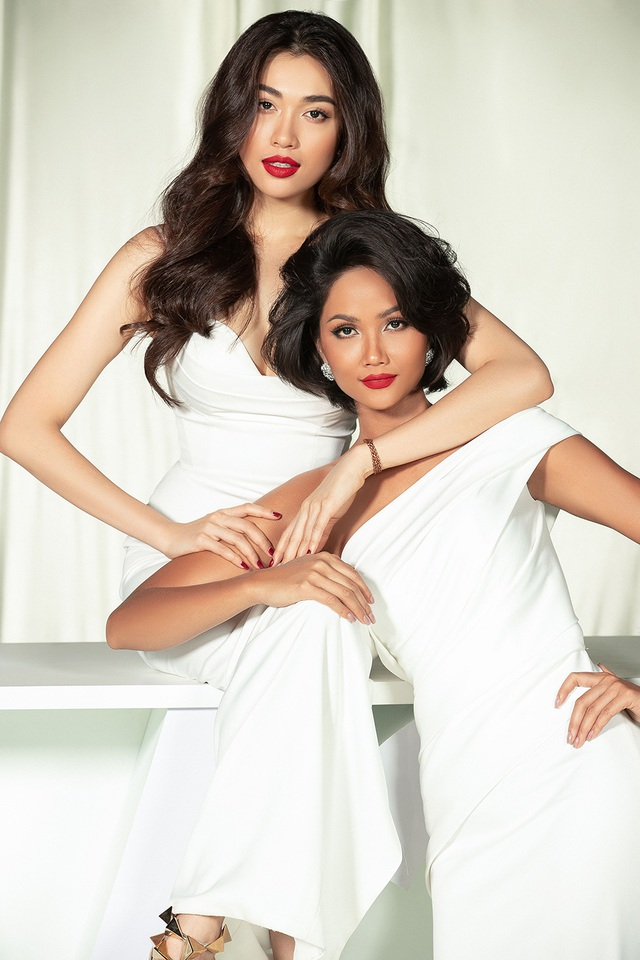 Hoa hậu Ji Hyun, H'Hen Niê, Khánh Vân tung ảnh quyến rũ ngày Lễ tình nhân - 6