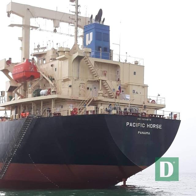 Cách ly 10 thuyền viên tàu hàng từ Hong Kong cập cảng Quảng Bình - 1