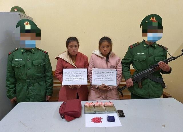 Bắt 2 thiếu nữ người Lào vận chuyển số lượng lớn ma tuý - 1