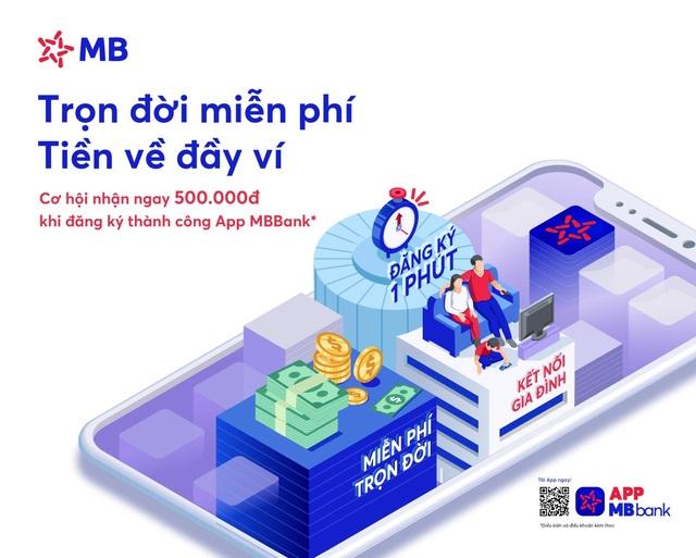 MB ra mắt App MBBank phiên bản mới với tổng giá trị ưu đãi lên đến 2 tỷ đồng - 1
